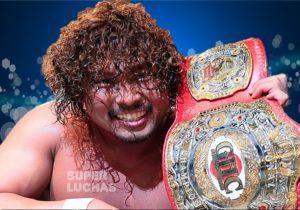 """NOAH: """"GHC National Title Sugiura vs. Nakajima"""" Nakajima se corona 6"""