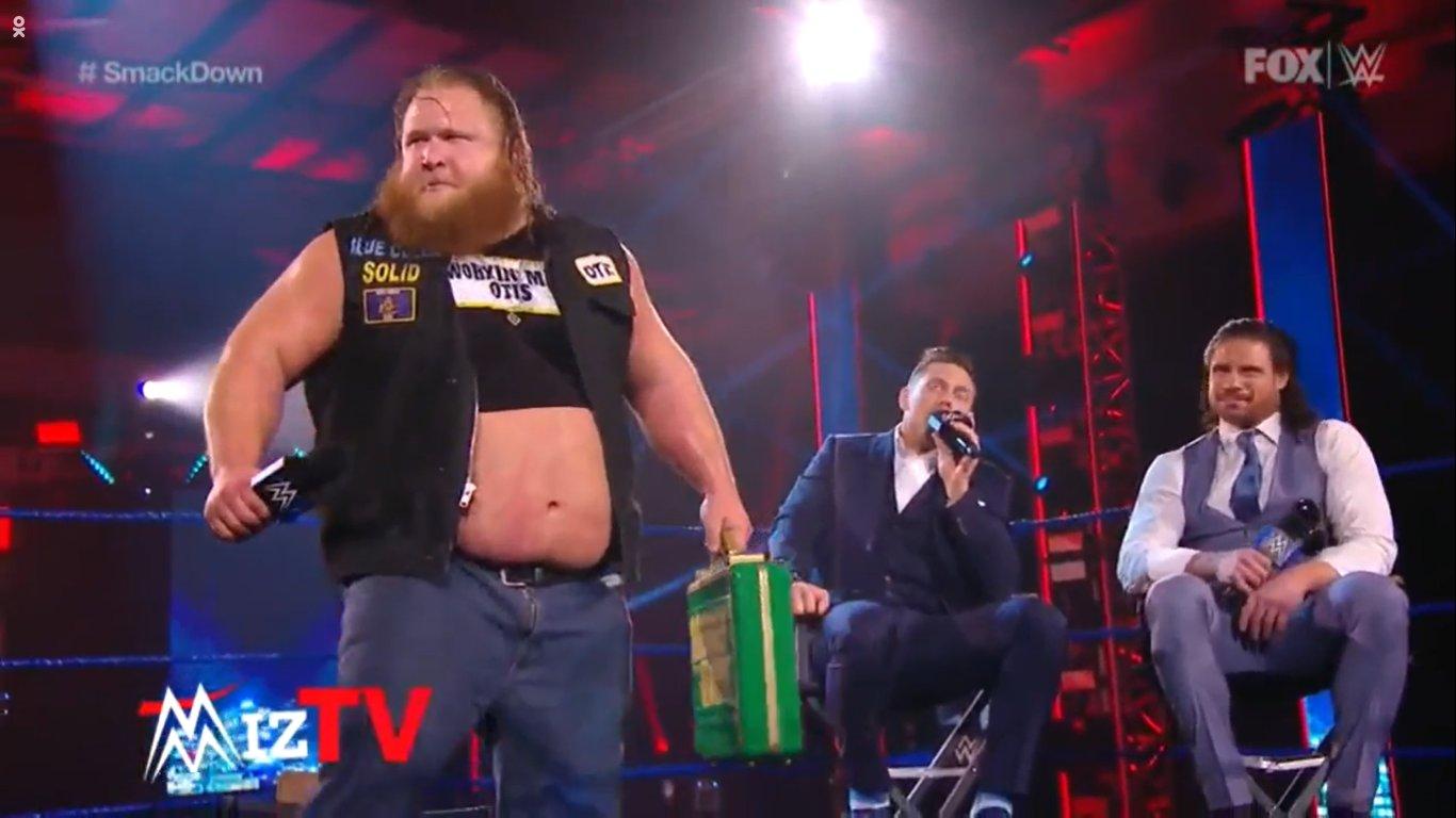 WWE SMACKDOWN (15 de mayo 2020) | Resultados en vivo | Otis, Mr. Money in the Bank 1