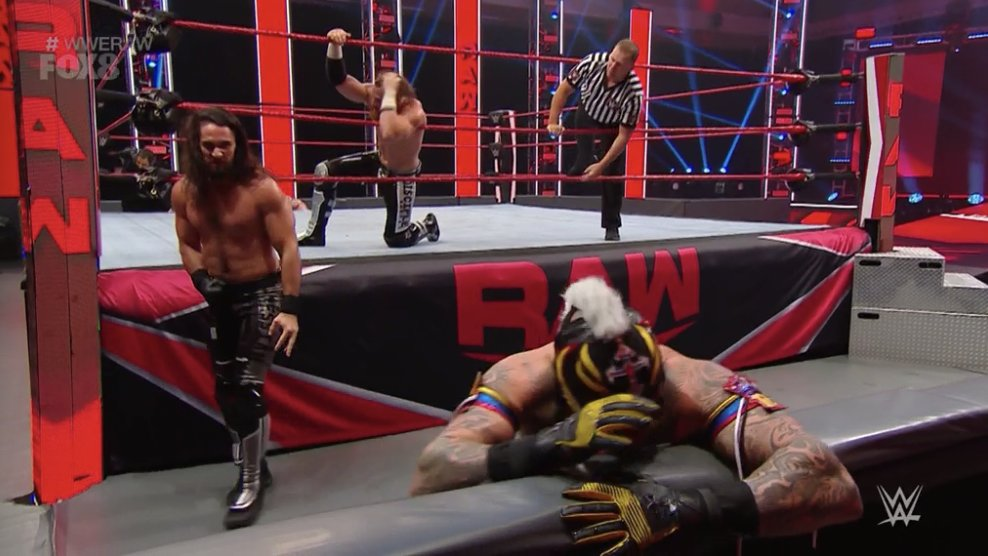 WWE RAW (11 de mayo 2020) | Resultados en vivo | Edge y Randy Orton regresan 40