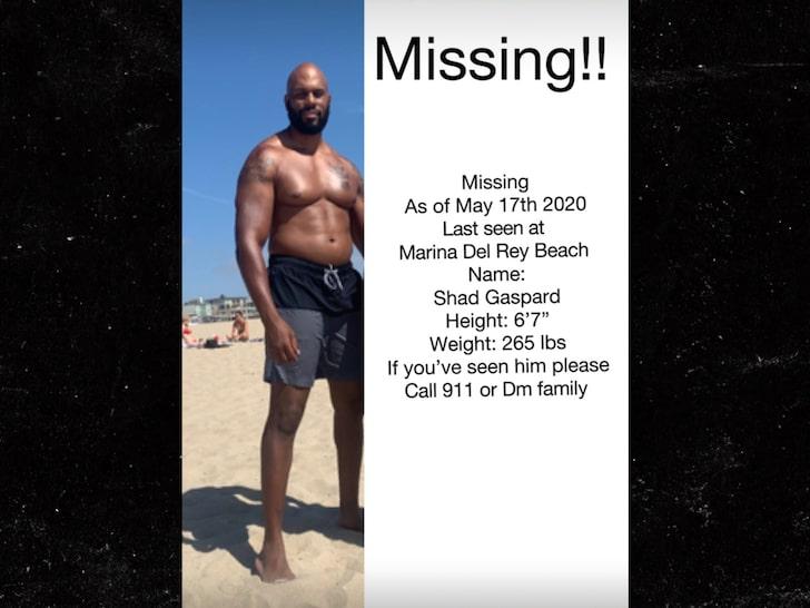 Shad Gaspard desapareció