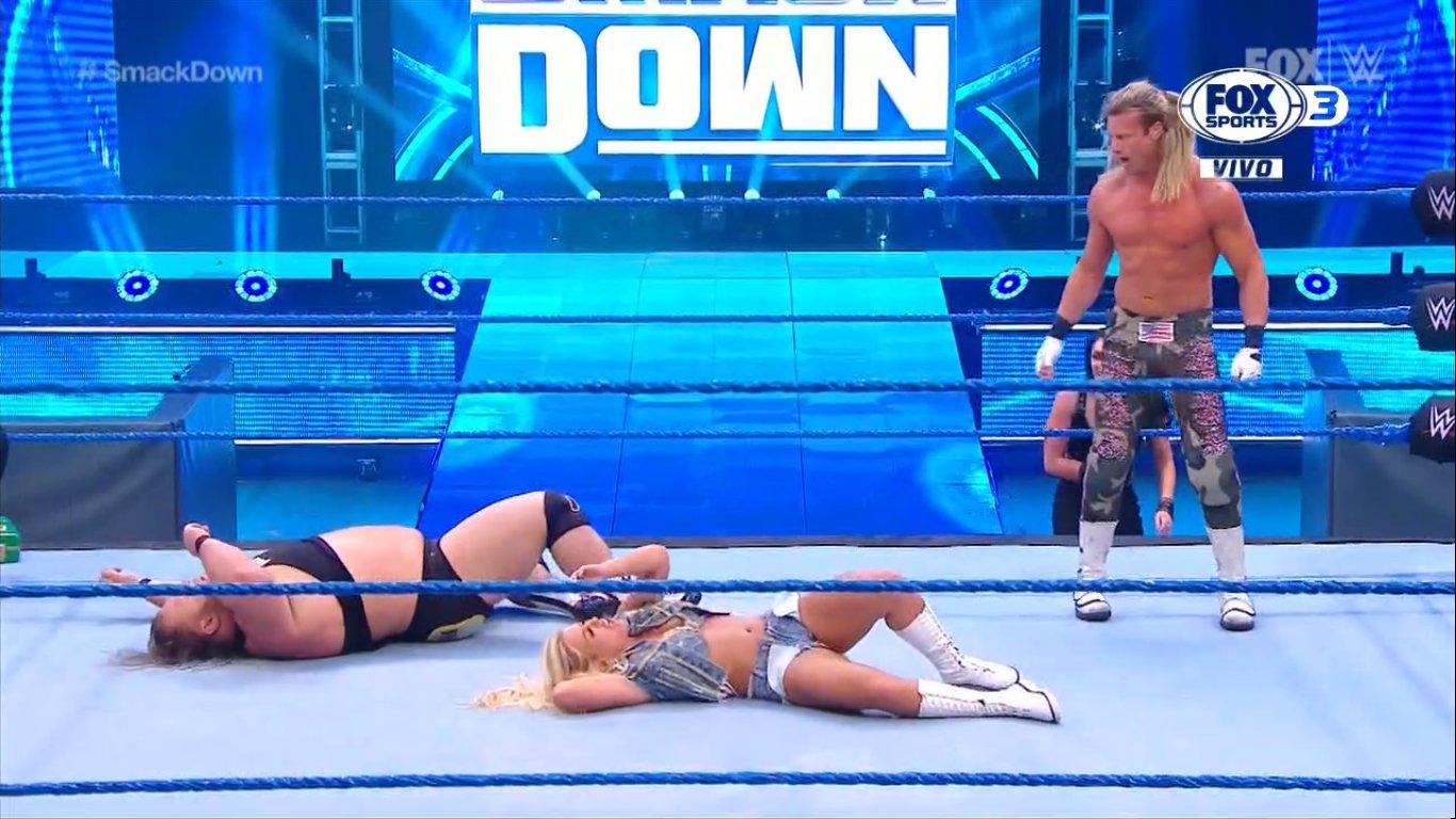 WWE SMACKDOWN (22 de mayo 2020) | Resultados en vivo | Duelo de campeonas 9