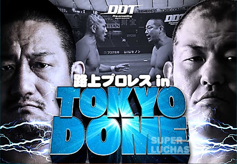 "Antes del ""Stadium Stampede Match"" existió ""Street Wrestling in Tokyo Dome"" 1"