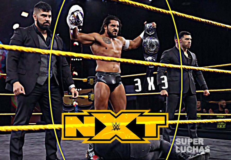 3 x 3: Lo mejor y lo peor de NXT 10 de junio 2020
