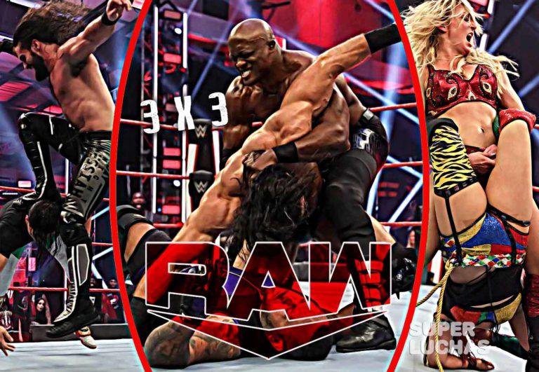 3 x 3: Lo mejor y lo peor de Raw 1 de junio 2020