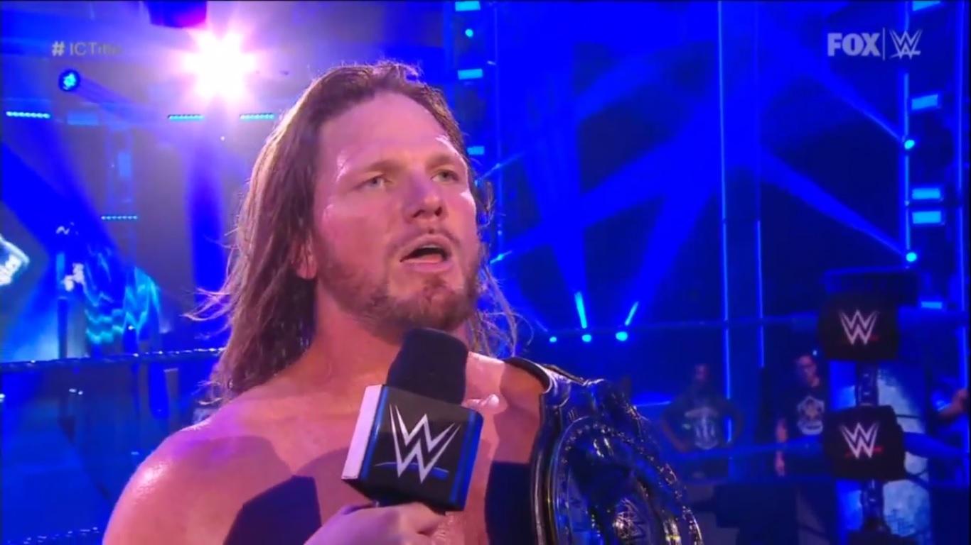 AJ Styles NUEVO Campeón Intercontinental WWE tras vencer a Daniel Bryan en WWE SmackDown (12/06/2020) / WWE Plan de AJ Styles