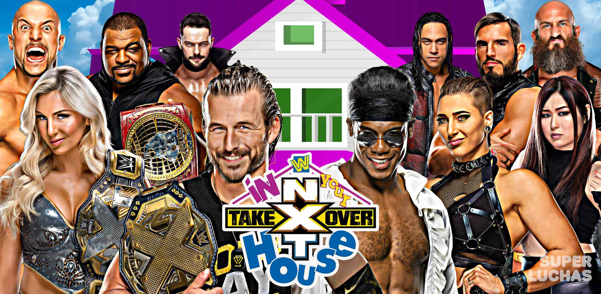 Resultados NXT TAKEOVER: IN YOUR HOUSE