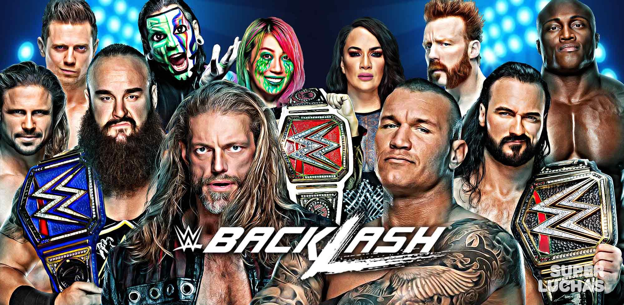 WWE BACKLASH 2020   Resultados
