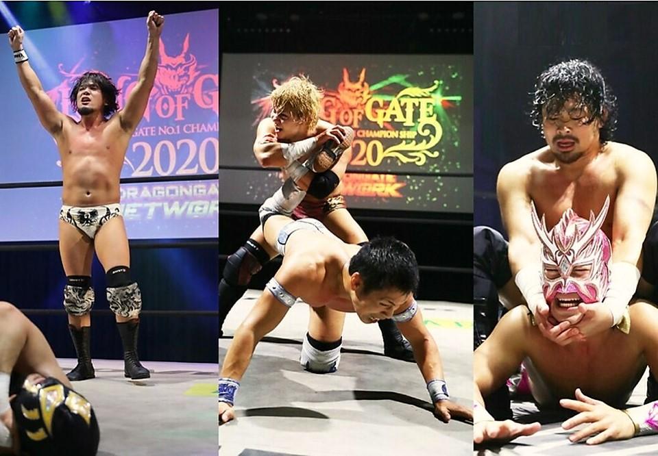 "Dragon Gate: ""King of Gate 2020"" Día 7 Finales de Grupo 1"