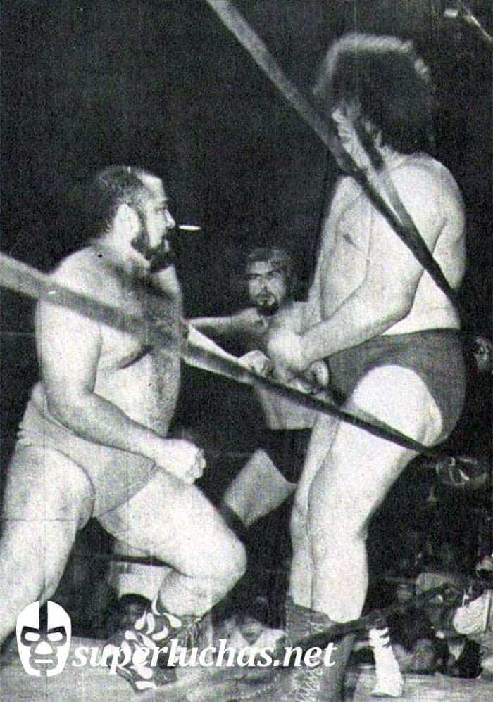 Herodes vs. André el Gigante