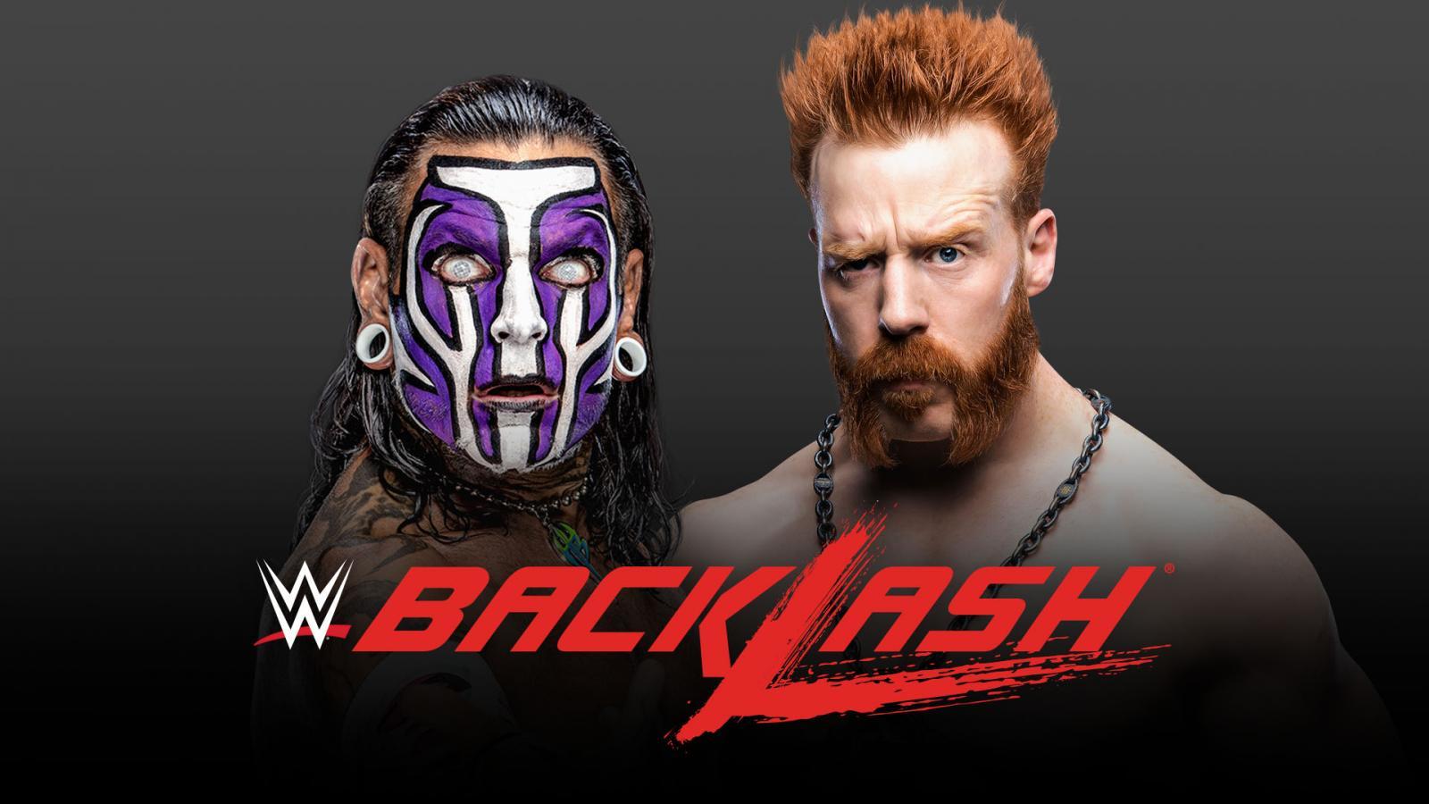 Jeff Hardy vs Sheamus en WWE Backlash 2020