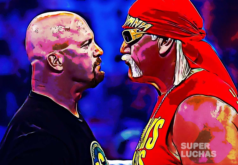 Steve Austin vs. Hulk Hogan
