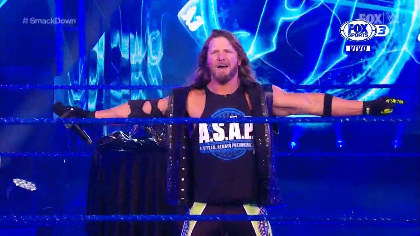 WWE SMACKDOWN (5 de junio 2020) | RESULTADOS EN VIVO | Jeff Hardy expone su caso 12