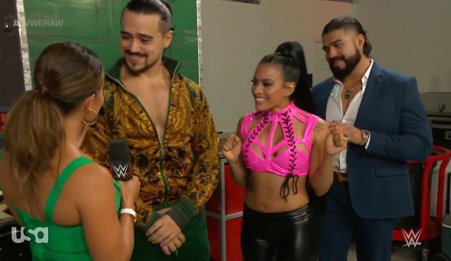 Andrade's alliance with Ángel Garza