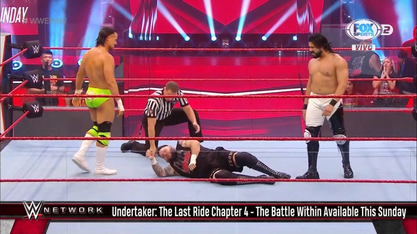 WWE RAW (8 de junio 2020) | Resultados en vivo | Edge y Christian se reúnen 15 Andrade vs Apollo Crews