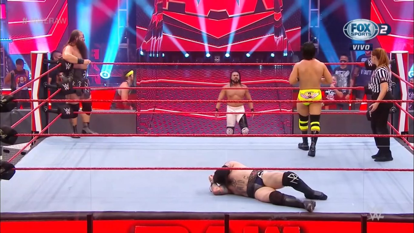 WWE RAW (June 29, 2020) | Live results | Contract signing for Extreme Rules 8