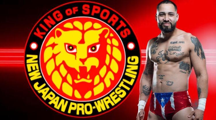 Danny Limelight Rivera, un boricua en New Japan Pro Wrestling 1