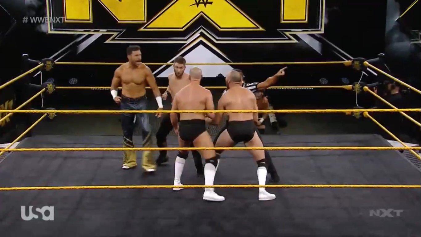 NXT (3 de junio 2020)   Resultados en vivo   Hijo del Fantasma vs. Drake Maverick 12