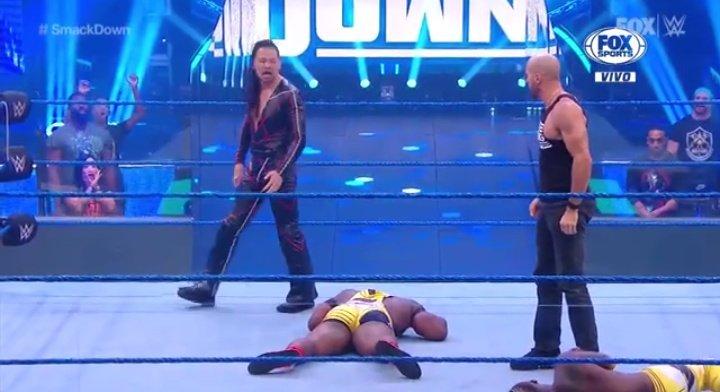 WWE SMACKDOWN (19 de junio 2020)   Resultados en vivo   El debut de Matt Riddle 10