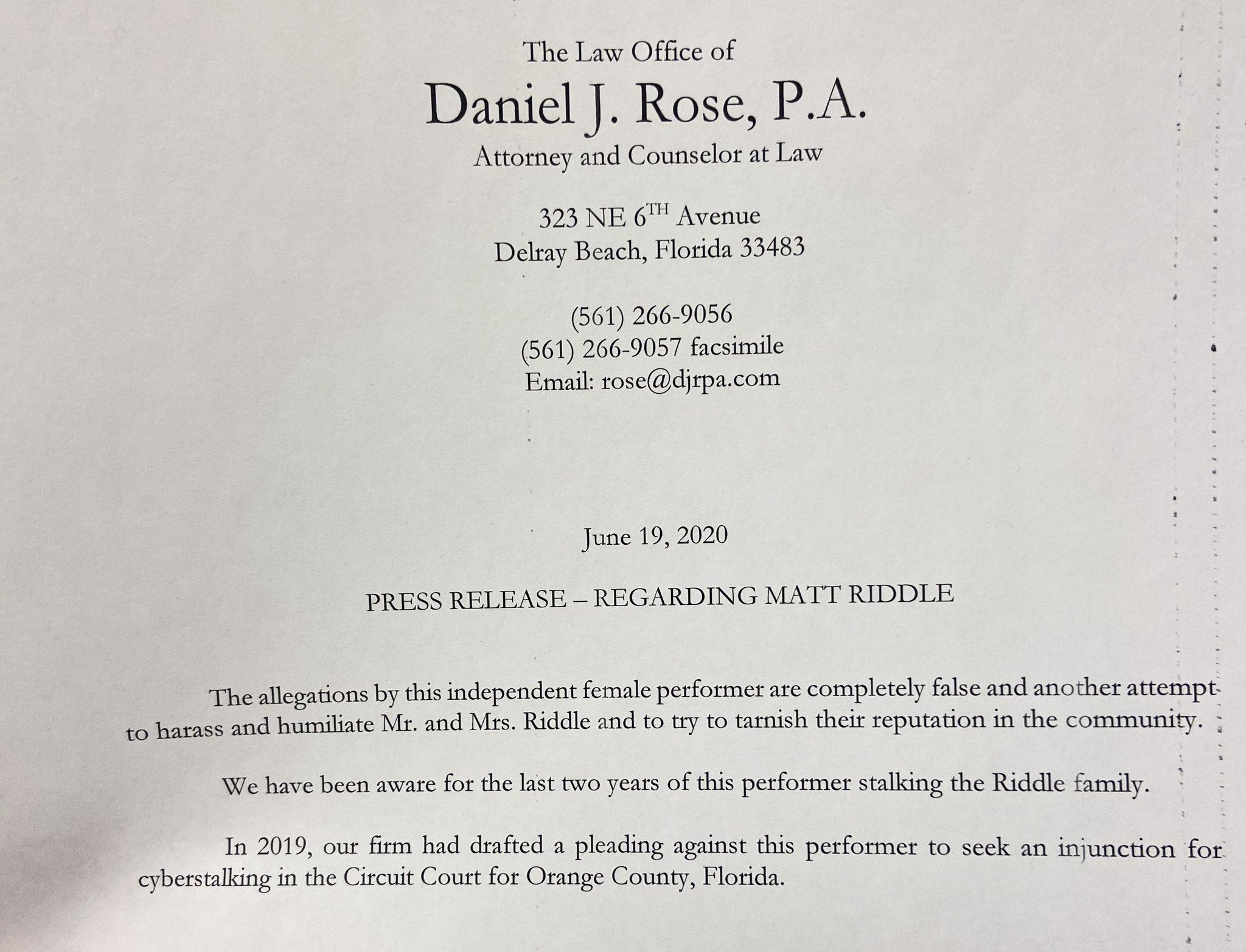 Más pruebas surgen contra Matt Riddle: Su esposa habría conocido del asunto 1