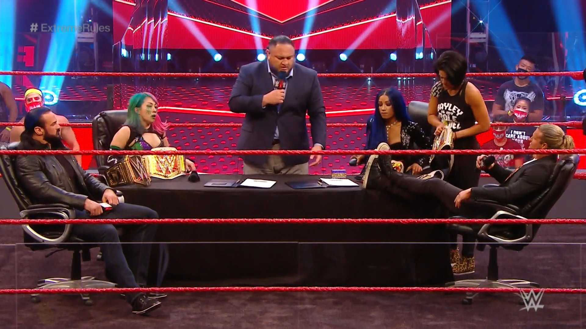 WWE RAW (June 29, 2020) | Live results | Contract signing for Extreme Rules 1