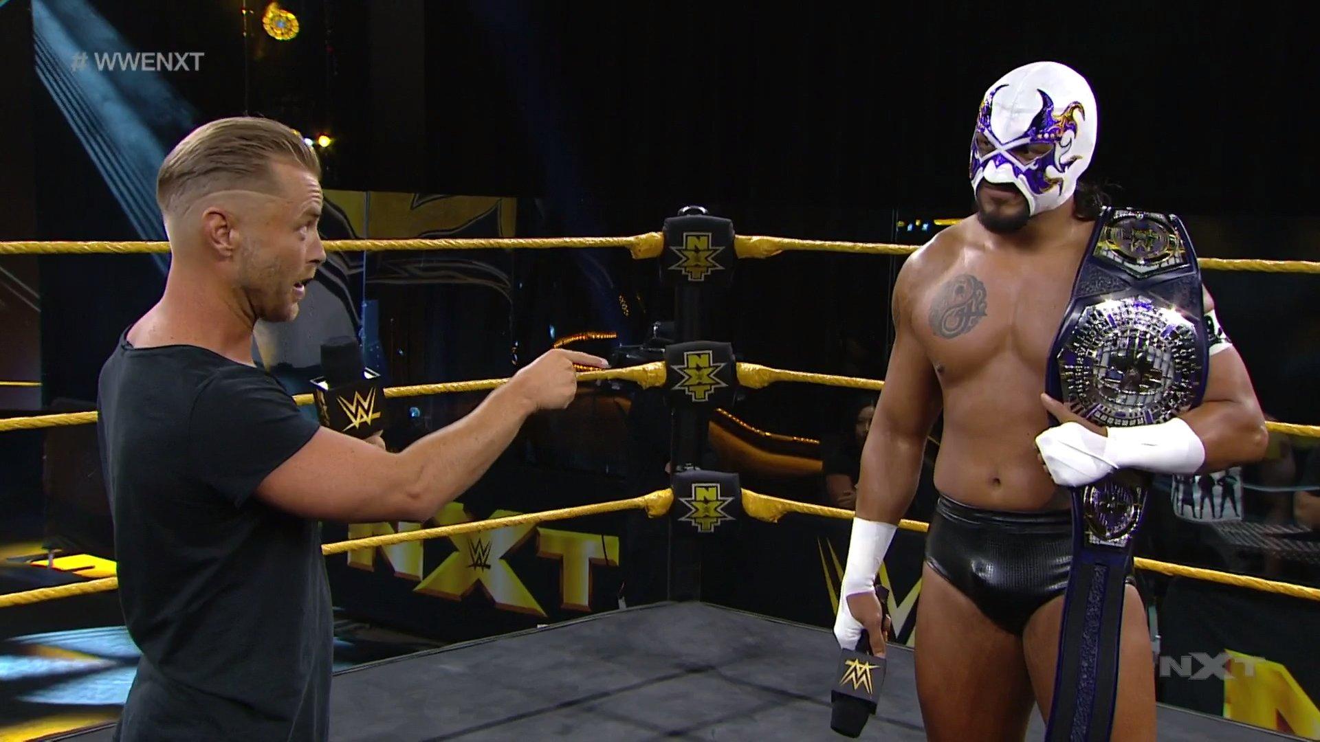 NXT (10 de junio 2020) | Resultados en vivo | Adam Cole vs. Dexter Lumis 31