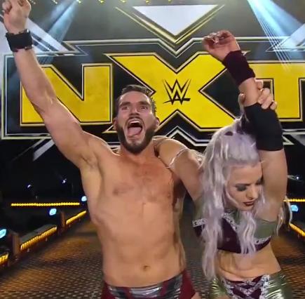 NXT (10 de junio 2020) | Resultados en vivo | Adam Cole vs. Dexter Lumis 23