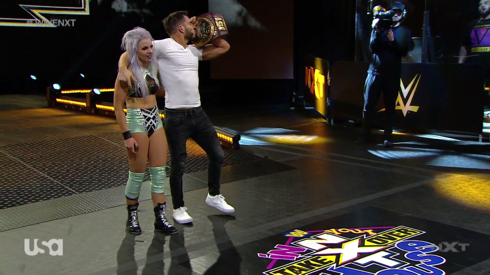 NXT (3 de junio 2020)   Resultados en vivo   Hijo del Fantasma vs. Drake Maverick 4