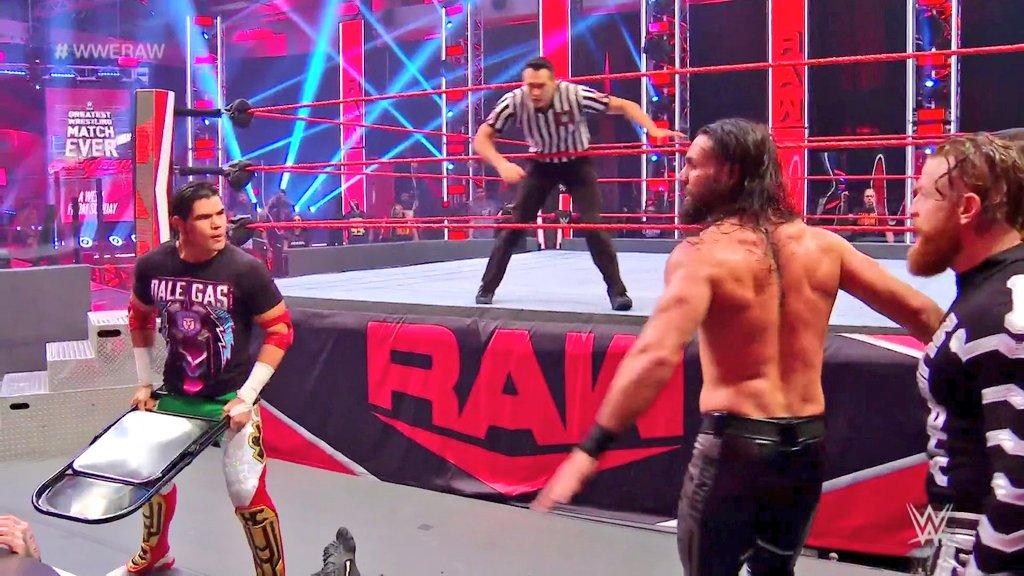 WWE RAW (1 de junio 2020) | Resultados en vivo | El retiro de Rey Mysterio 4