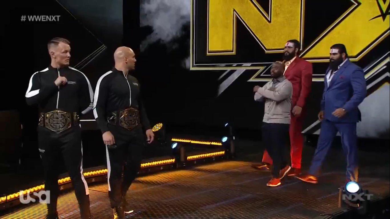 NXT (3 de junio 2020)   Resultados en vivo   Hijo del Fantasma vs. Drake Maverick 13