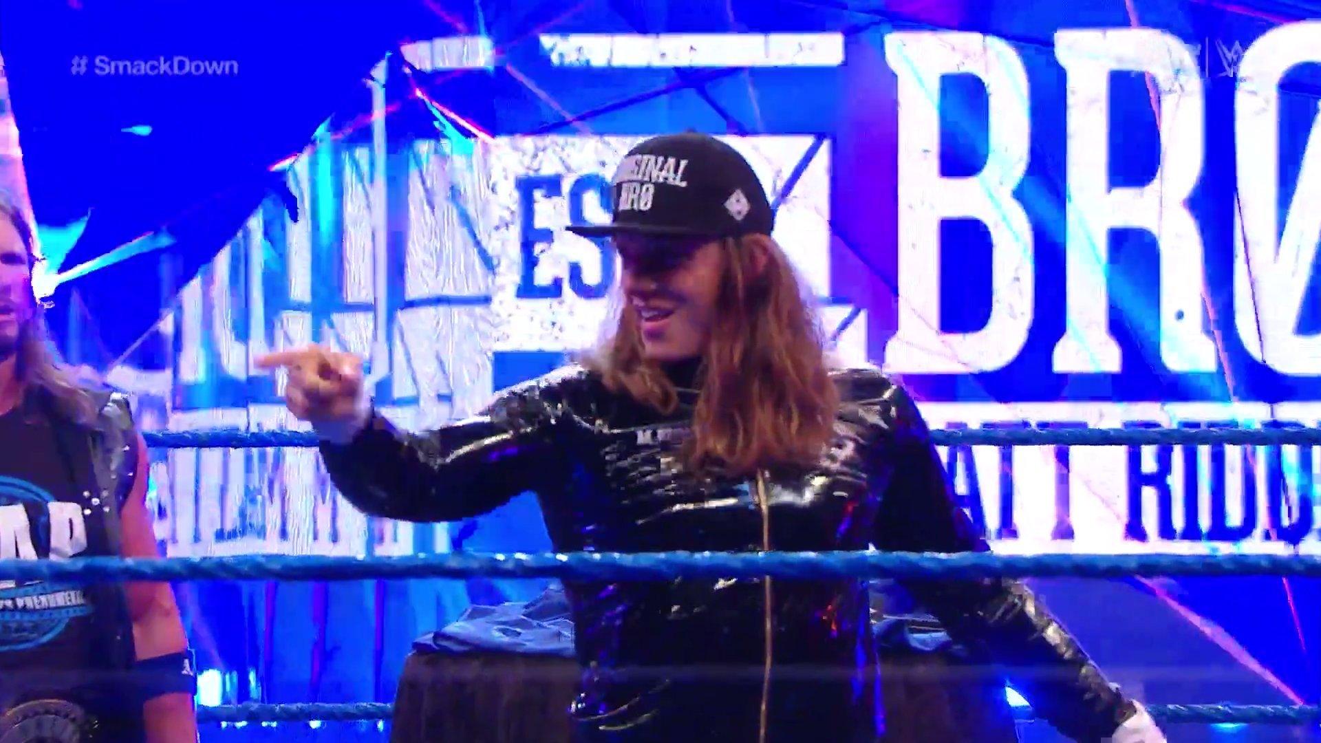 WWE SMACKDOWN (19 de junio 2020)   Resultados en vivo   El debut de Matt Riddle 3