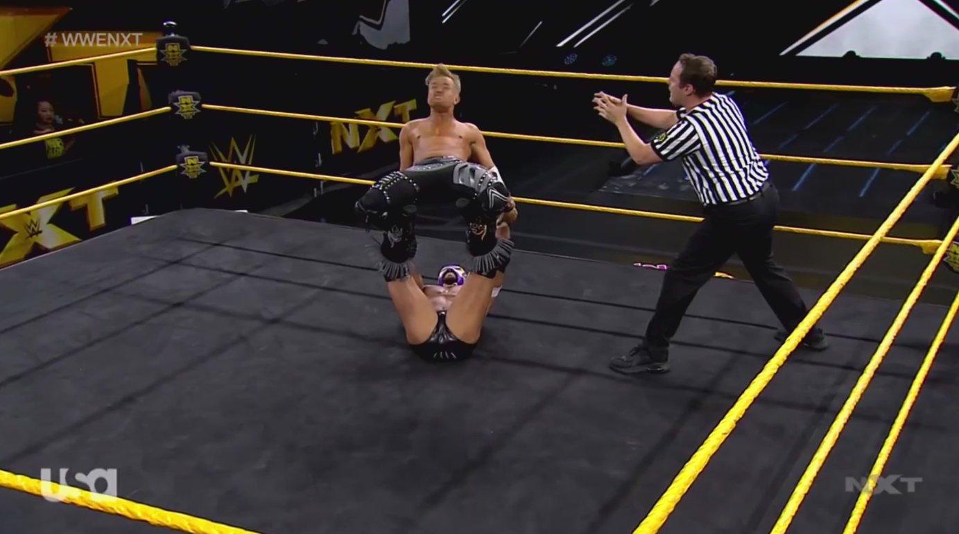 NXT (3 de junio 2020) | Resultados en vivo | Hijo del Fantasma vs. Drake Maverick 18