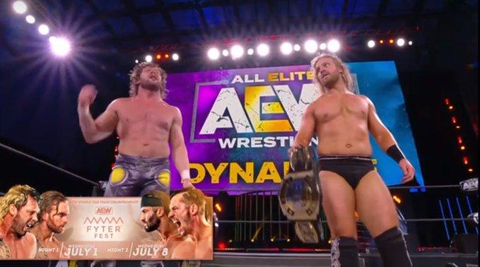 AEW Dynamite 3 de junio 2020