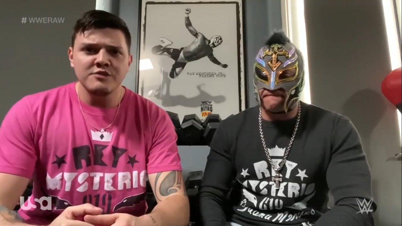 WWE RAW (1 de junio 2020) | Resultados en vivo | El retiro de Rey Mysterio 17
