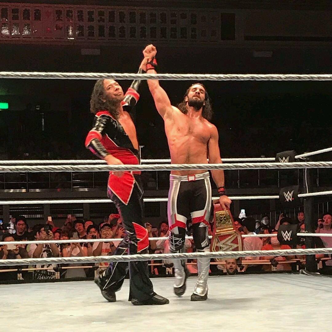 Shinsuke Nakamura quiere una revancha contra Seth Rollins 1