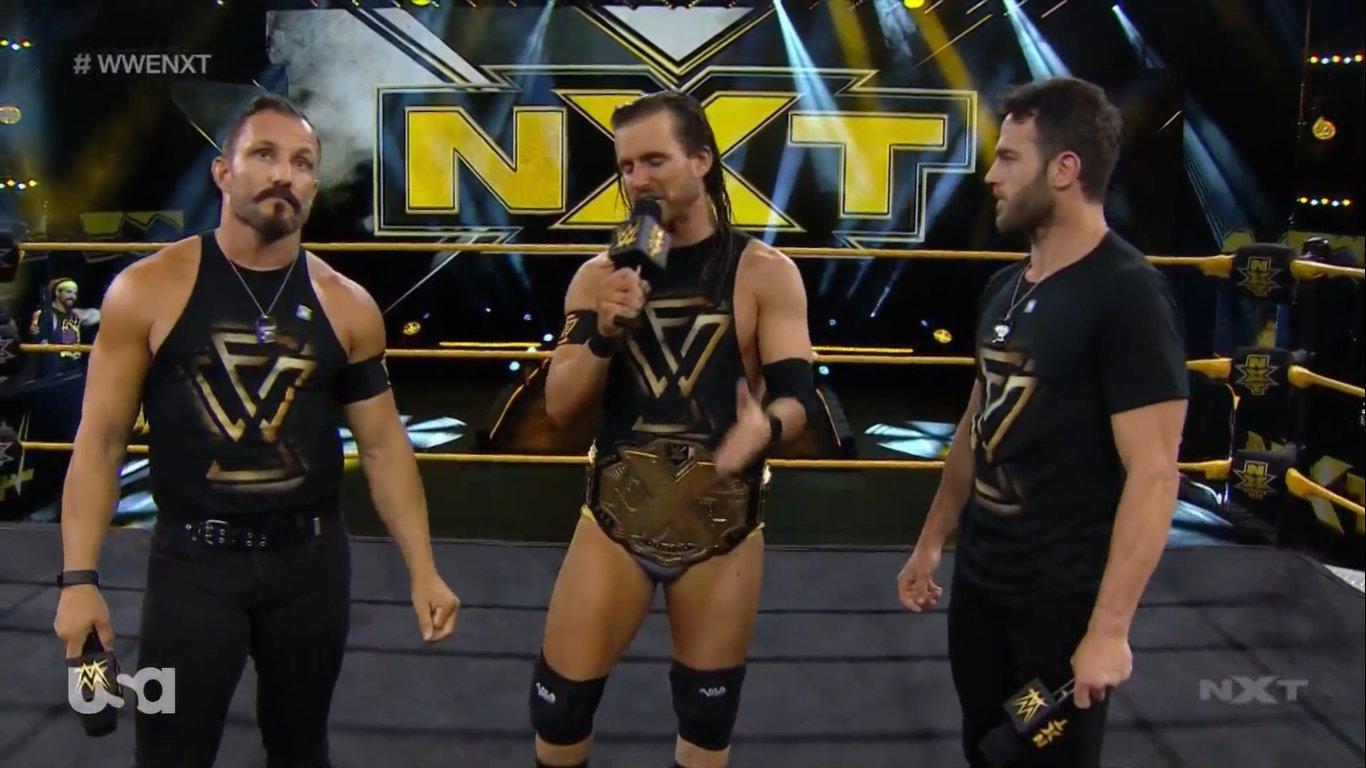 NXT (10 de junio 2020) | Resultados en vivo | Adam Cole vs. Dexter Lumis 20