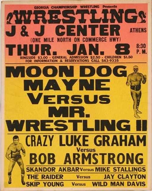 Fallece Mr. Wrestling 2, el luchador favorito del presidente Carter 1