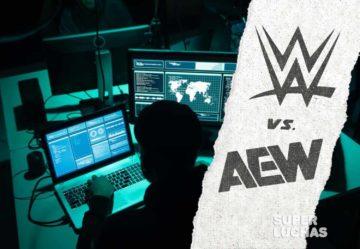 AEW vs WWE hacking