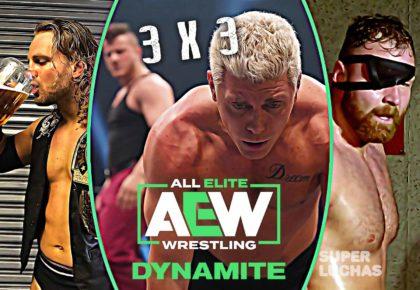 3X3 AEW Dynamite 5 de febrero 2020