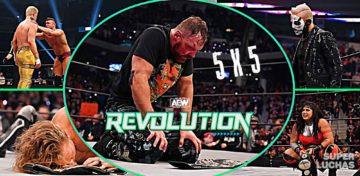 5 x 5: Lo mejor y lo peor de AEW Revolution