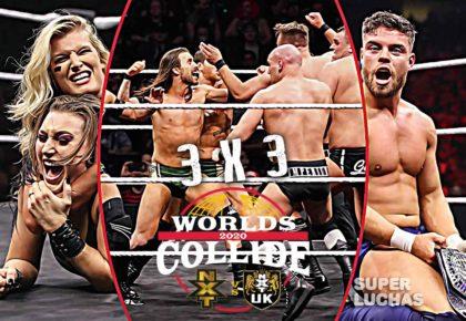 3x3 WWE Worlds Collide 2020