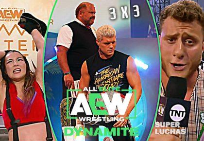 3 x 3: Lo mejor y lo peor de AEW Dynamite 1 de julio 2020