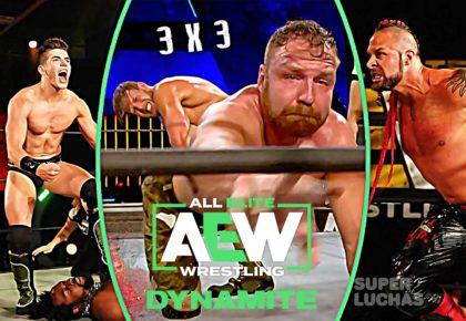 3 x 3: Lo mejor y lo peor de AEW Dynamite 15 de abril 2020