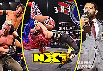 3 x 3: Lo mejor y lo peor de NXT 1 de julio 2020
