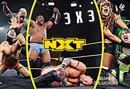 3 x 3: Lo mejor y lo peor de NXT 1 de abril 2020