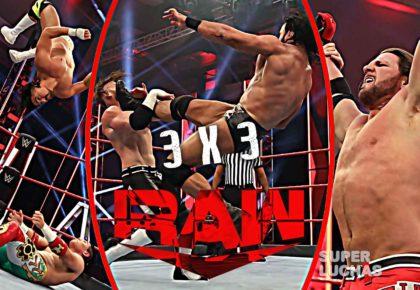 3 x 3: Lo mejor y lo peor de Raw 4 de mayo 2020