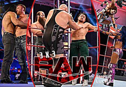 3 x 3: Lo mejor y lo peor de Raw 6 de julio 2020