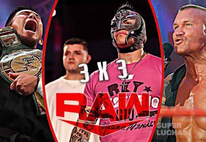 3 x 3: Lo mejor y lo peor de Raw 22 de junio 2020