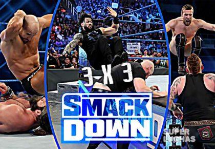 3X3 WWE SmackDown 7 de febrero 2020