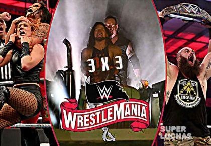 3 x 3; Lo mejor y lo peor de WrestleMania 36 Parte 1