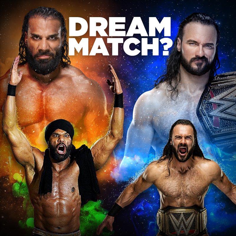 Jinder Mahal vs Drew McIntyre